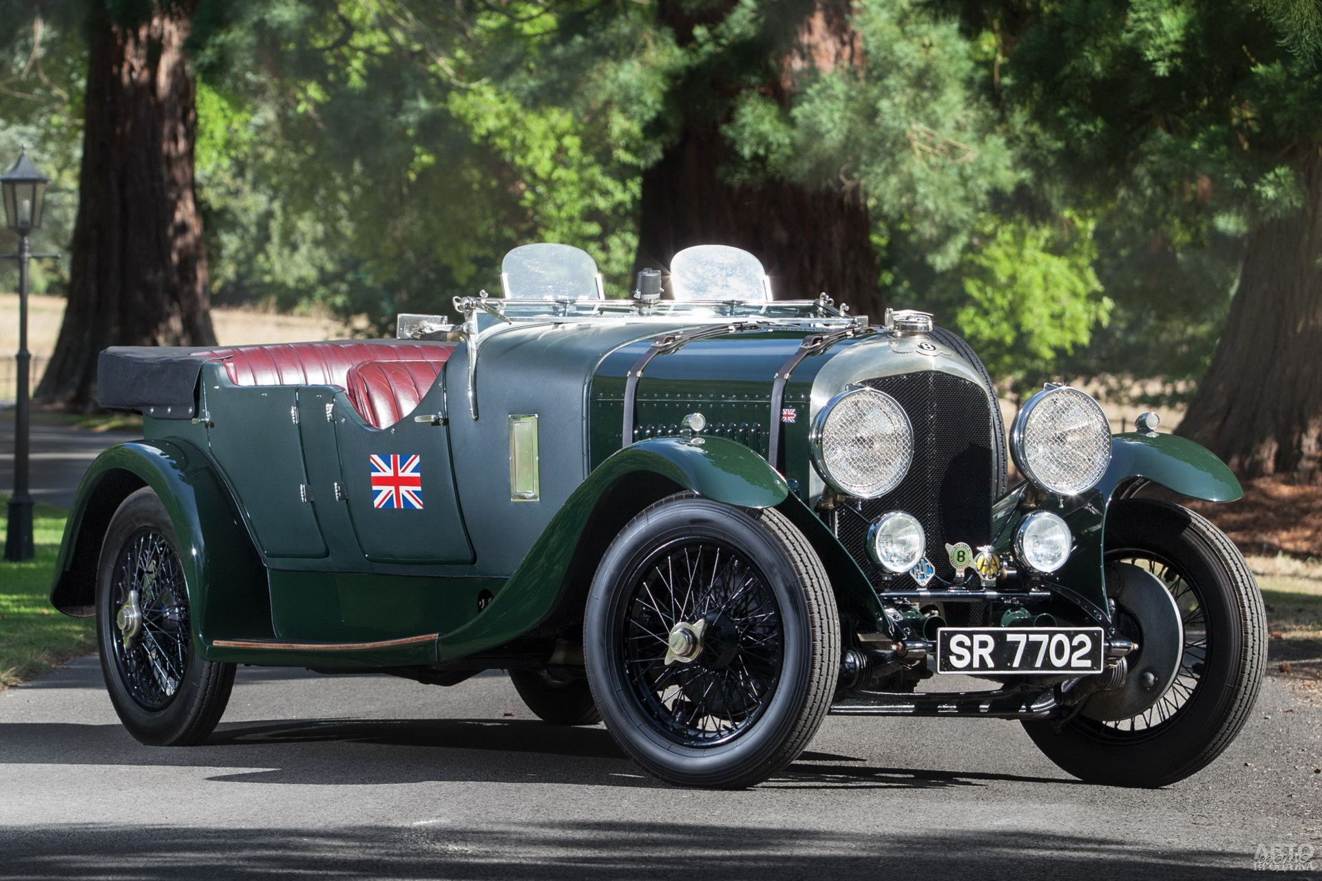 Bentley 4 ½ Litre Tourer 1927 года