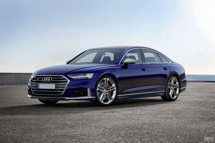 Audi S8: заряженный флагман