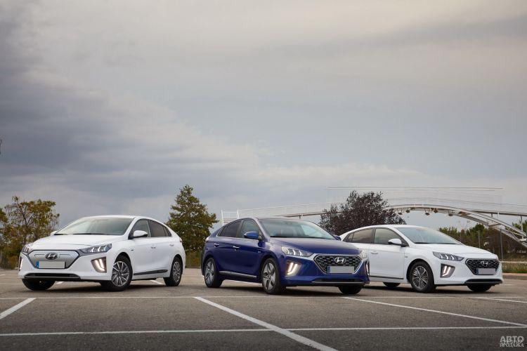 Hyundai Ioniq: модернизация