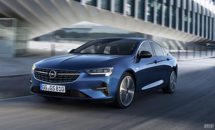 Opel Insignia обновили