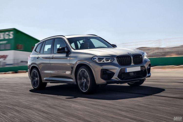 BMW X3 M: вседорожник с огоньком
