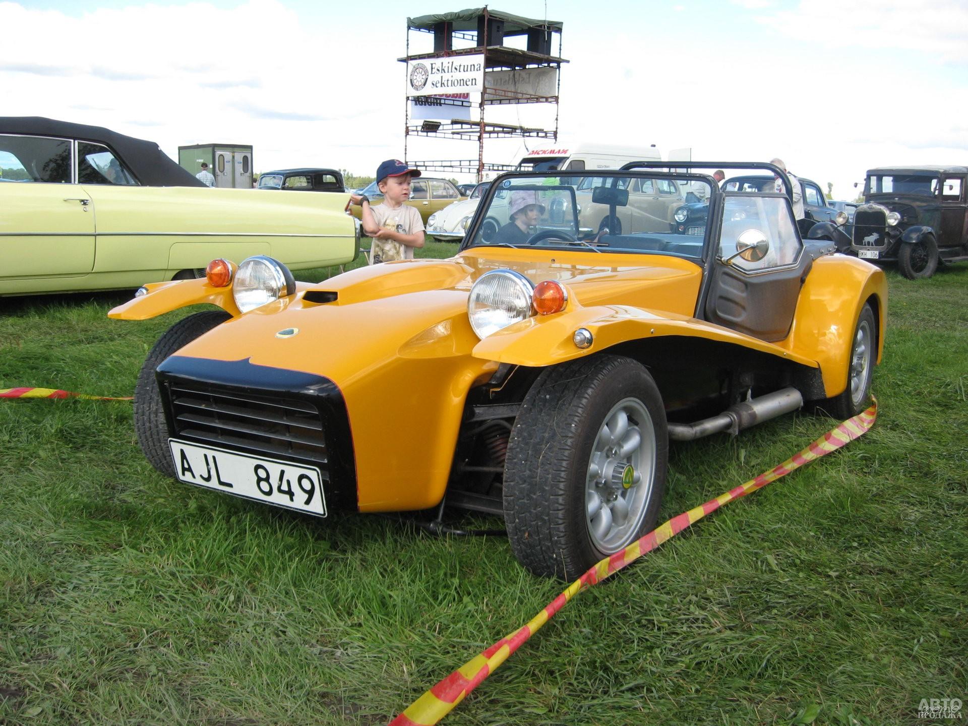 Lotus Seven S4 1971 года