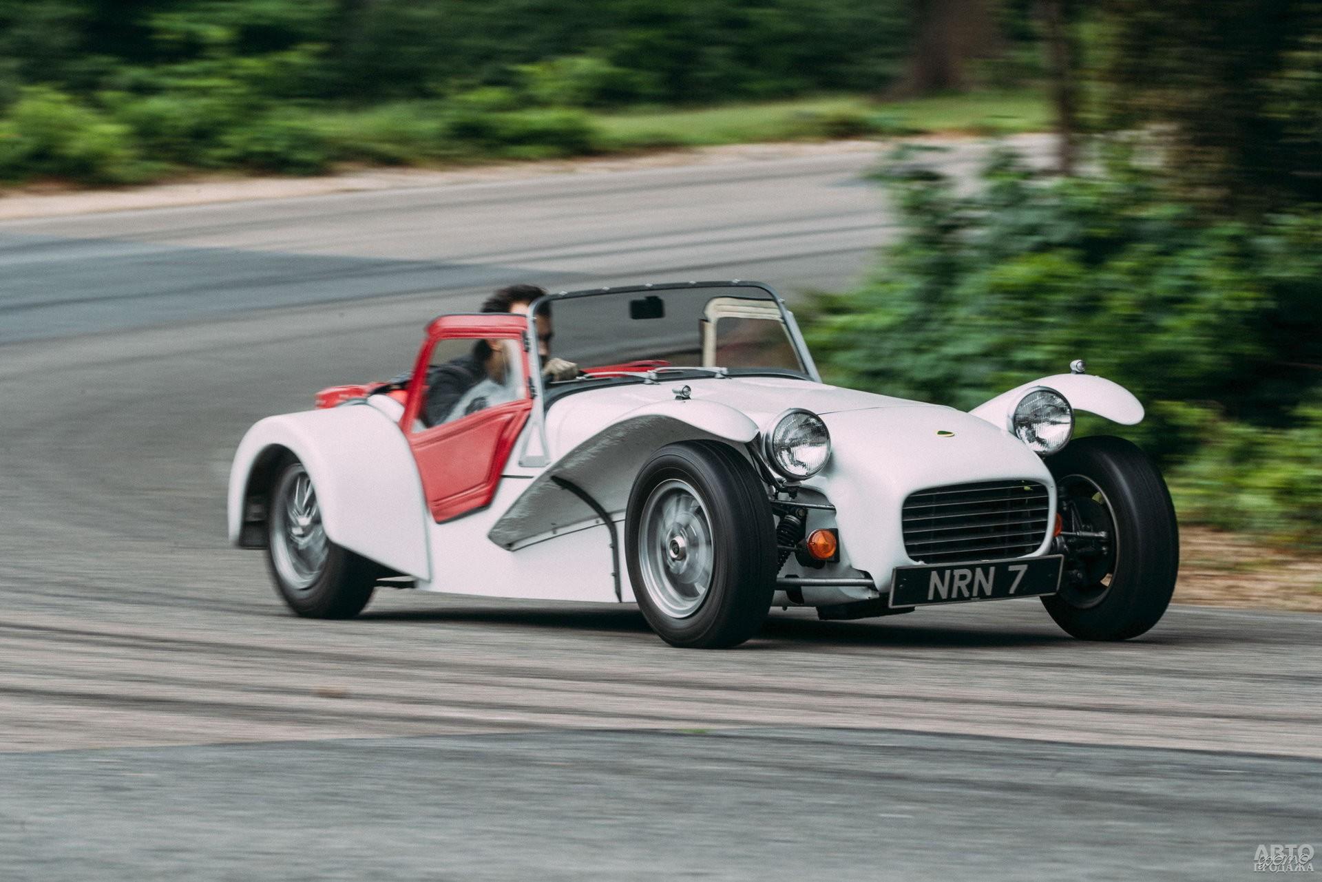 Lotus Seven S3 1968 года