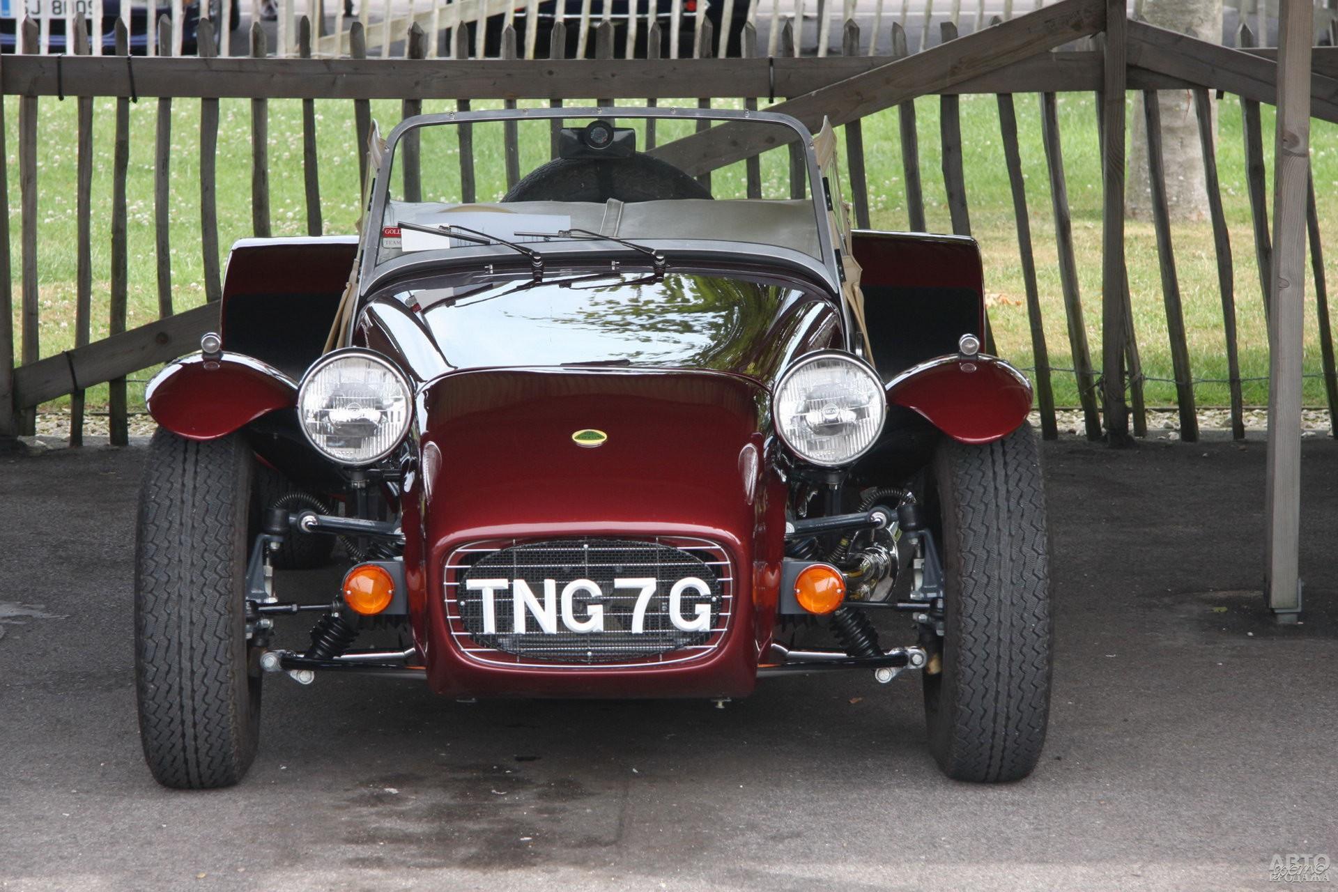 Lotus Super Seven оснастили 1,5-литровым 126-сильным мотором