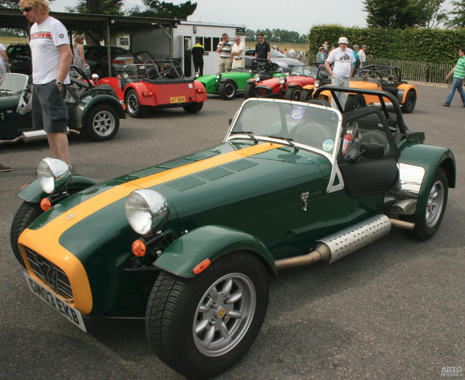 Lotus Seven S2 1961 года