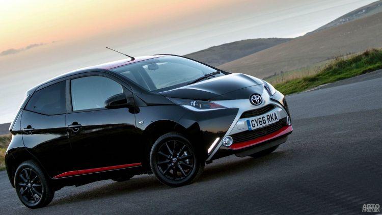Toyota Aygo станет электромобилем