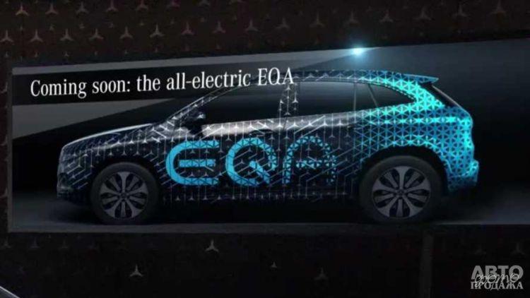 Mercedes-Benz GLA получит электрическую версию