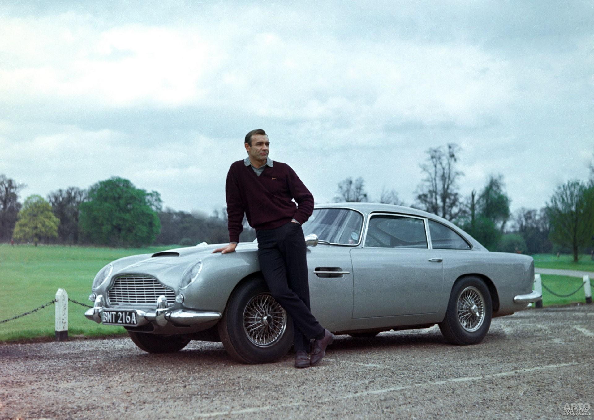 Aston Martin DB5 – знаменитый авто Джеймса Бонда