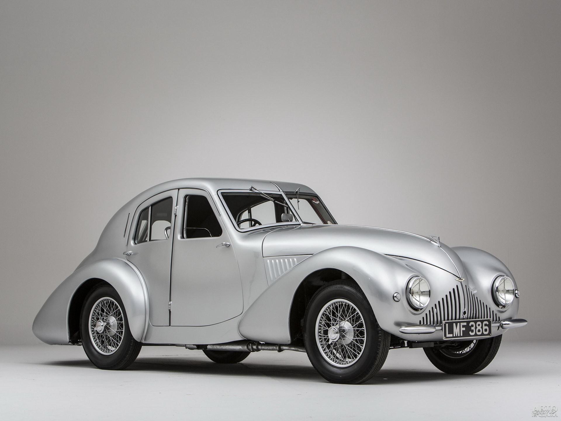 Прототип Aston Martin Atom, 1939 год