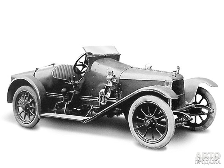 Первый Aston_Martin Coal Scuttle 1915 года