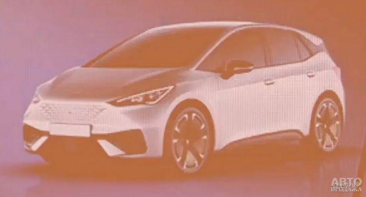 Первые изображения нового электромобиля Seat.