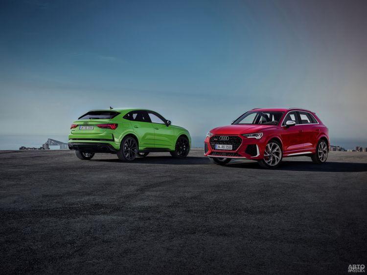 Audi RS Q3: компактная вседорожная ракета
