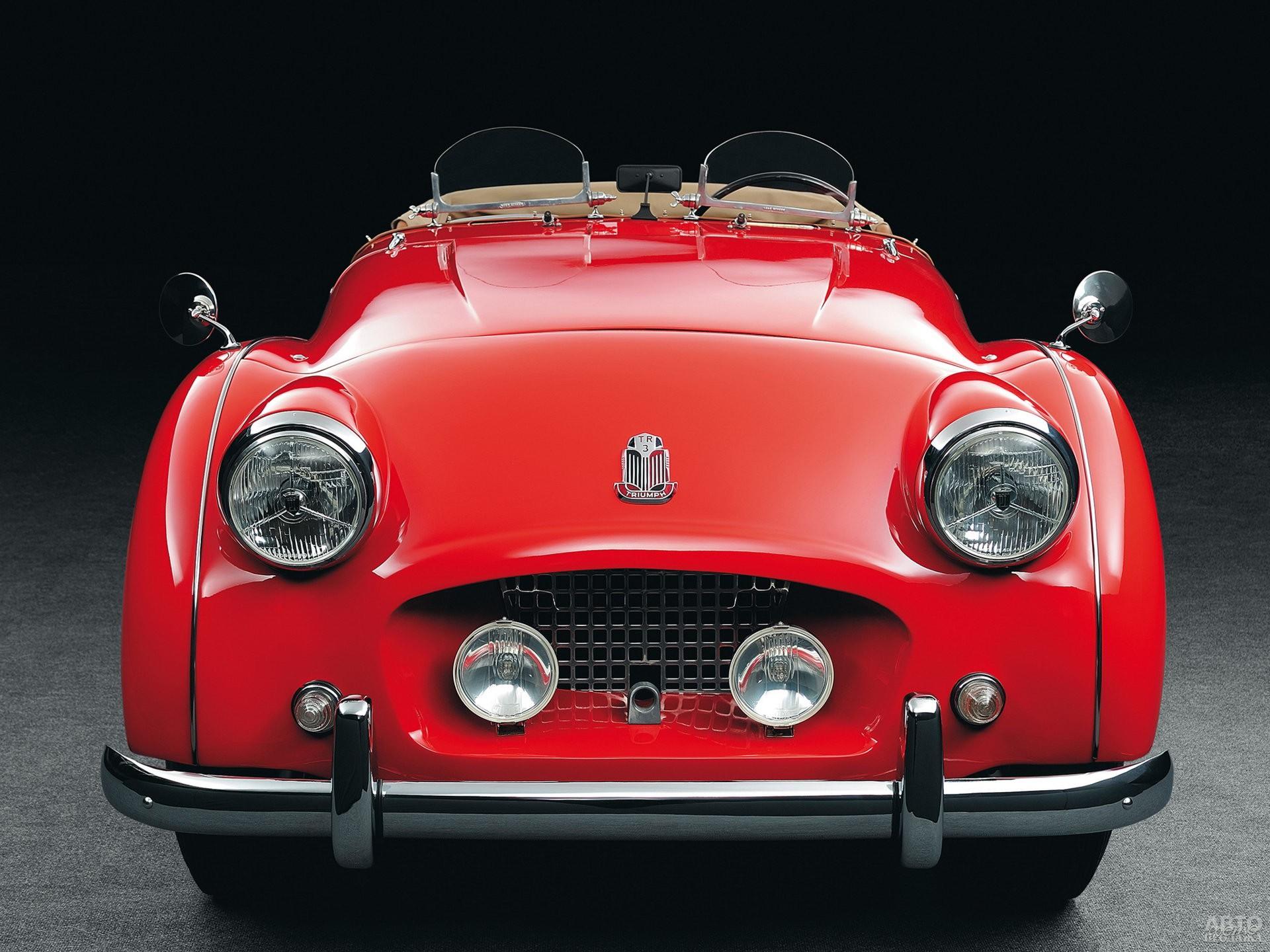 Triumph TR3 1955 года