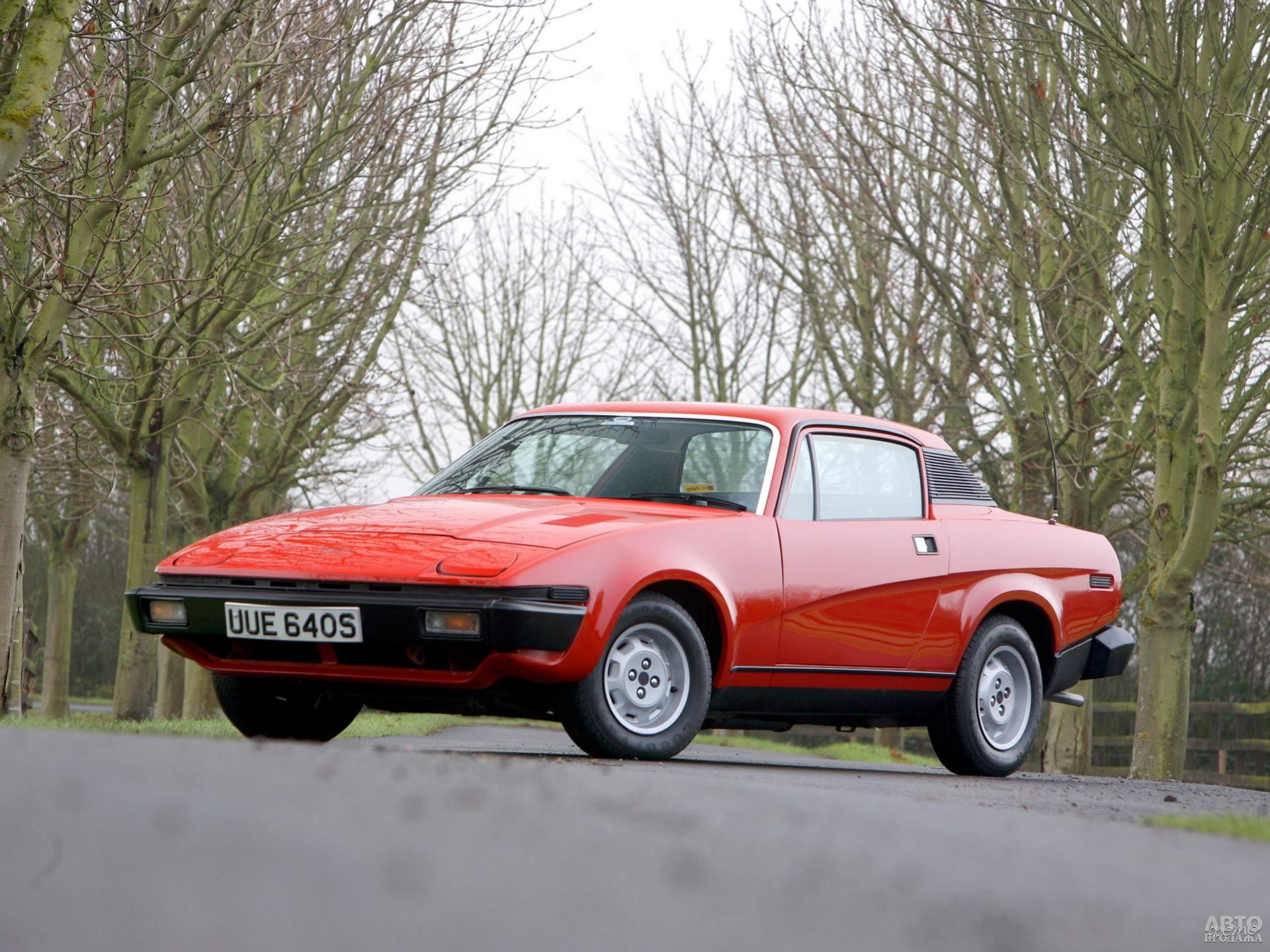 Купе Triumph TR7 1974 года