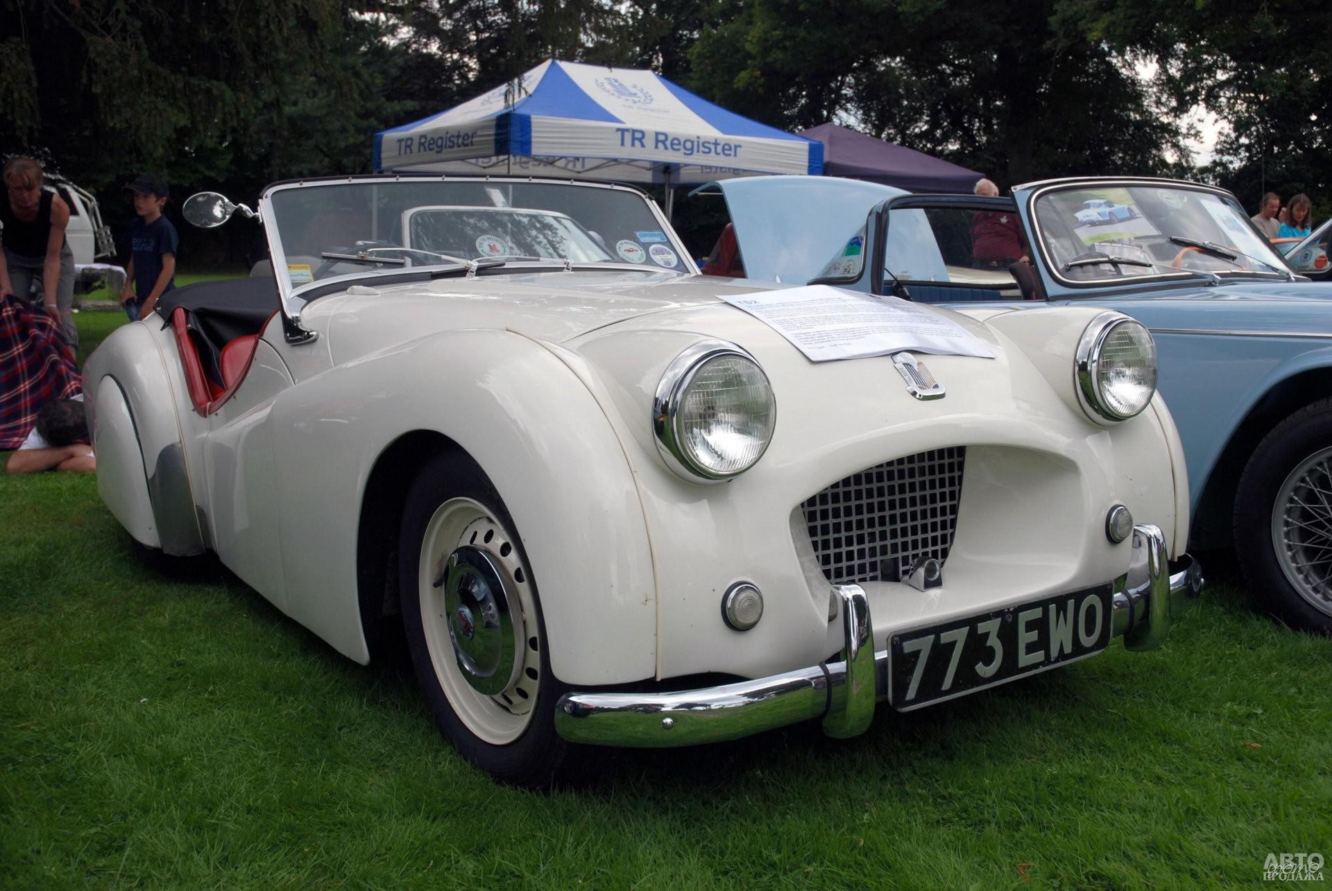 Прототип Triumph TR1 1952 года