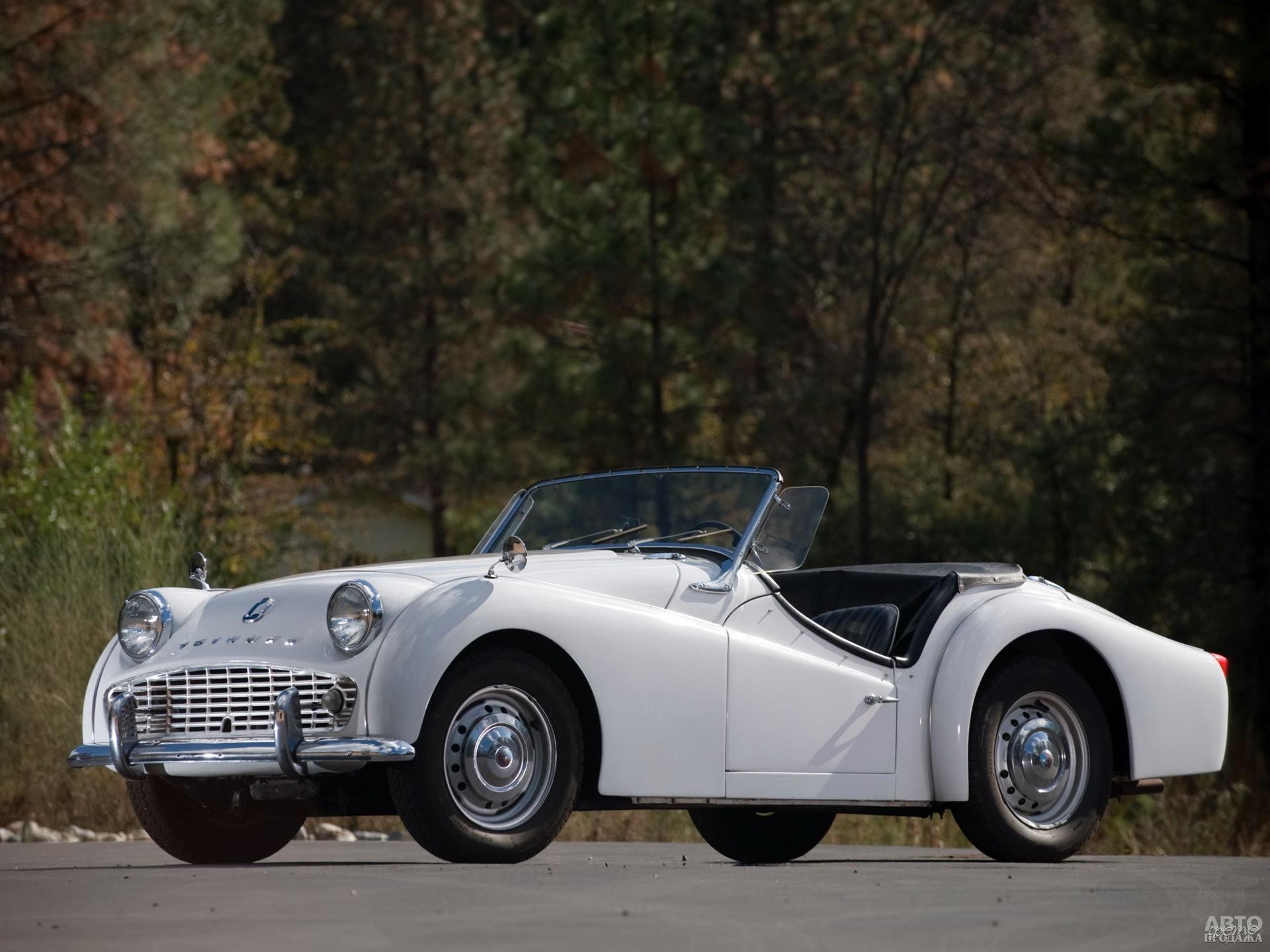 Более мощный Triumph TR3A 1957 года