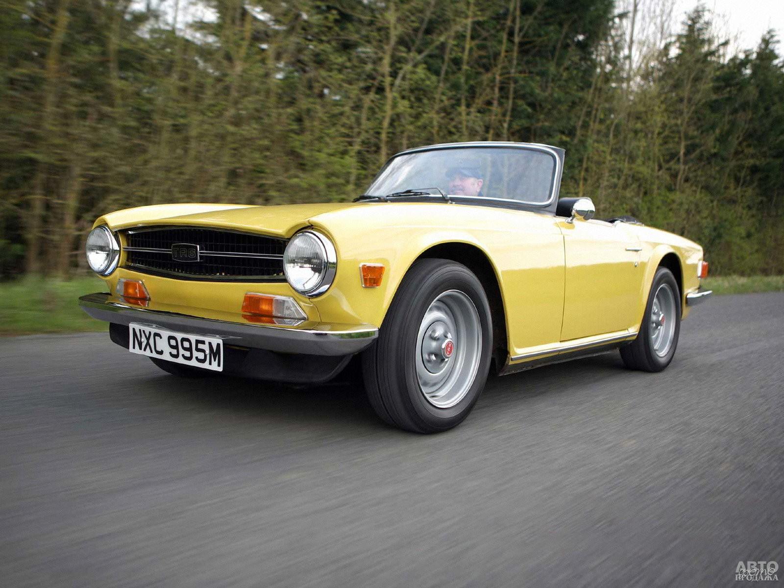 Triumph TR6 1969 года