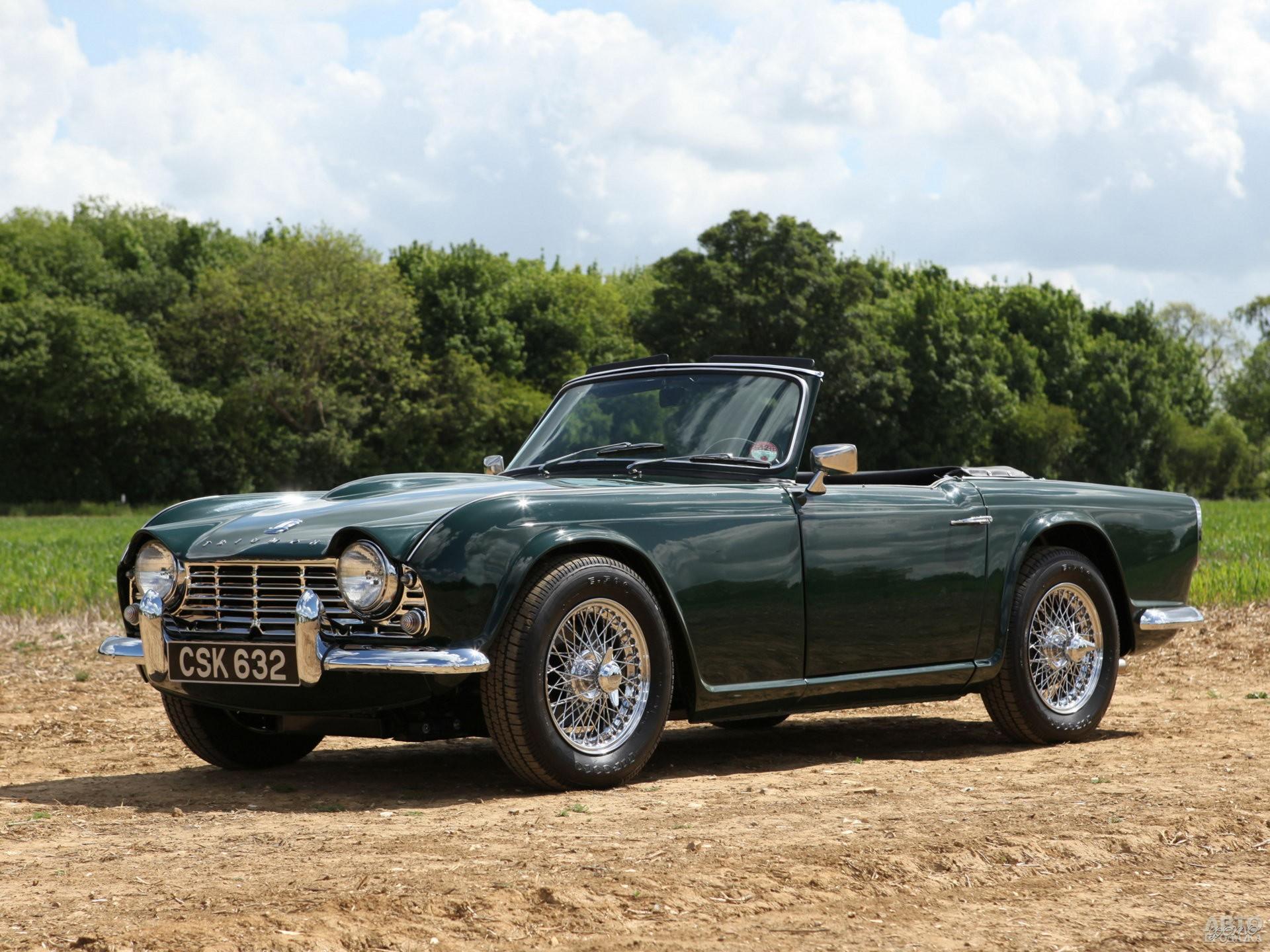 Triumph TR4, 1961 год