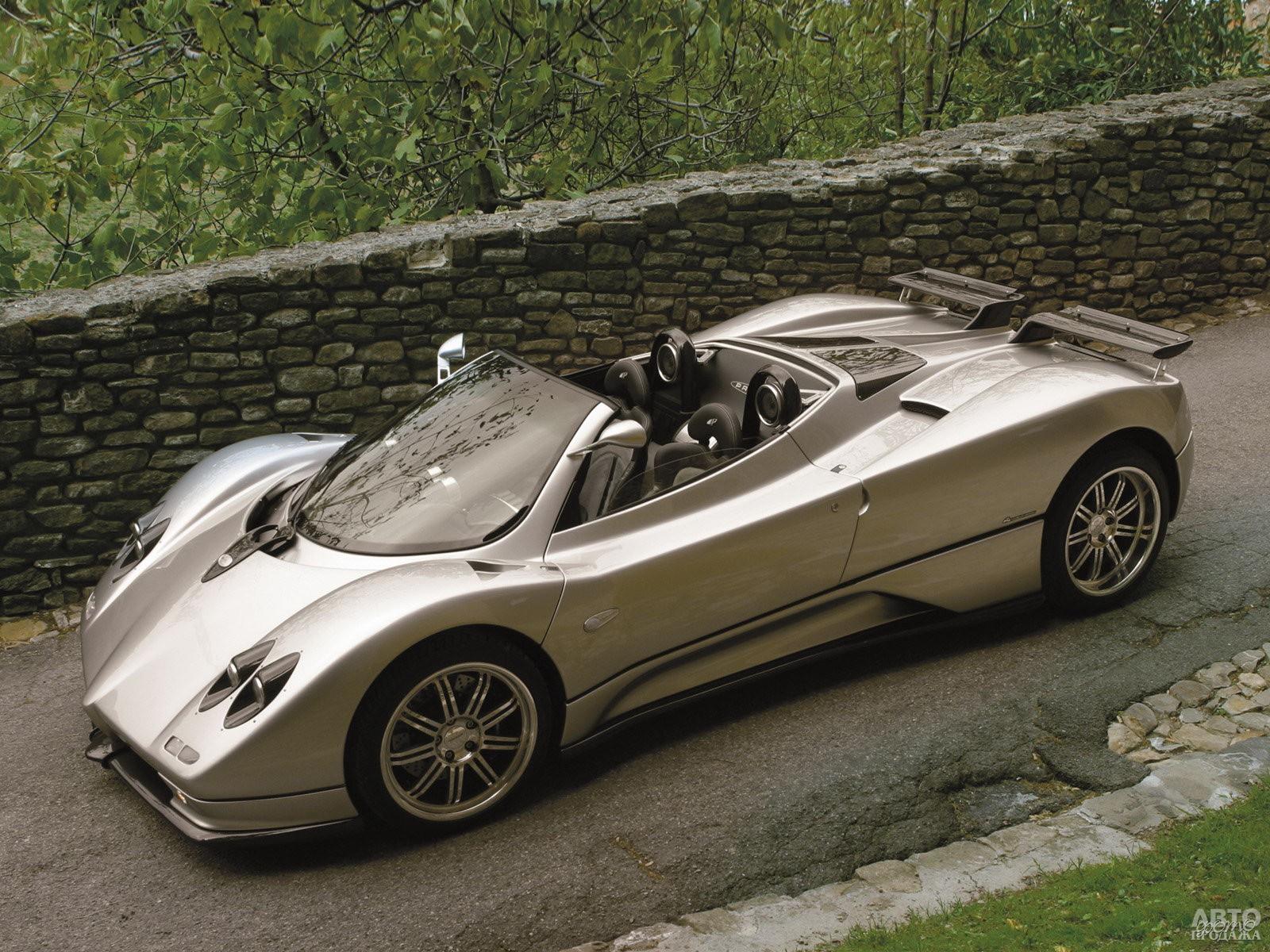Pagani Zonda S Roadster 2003 года