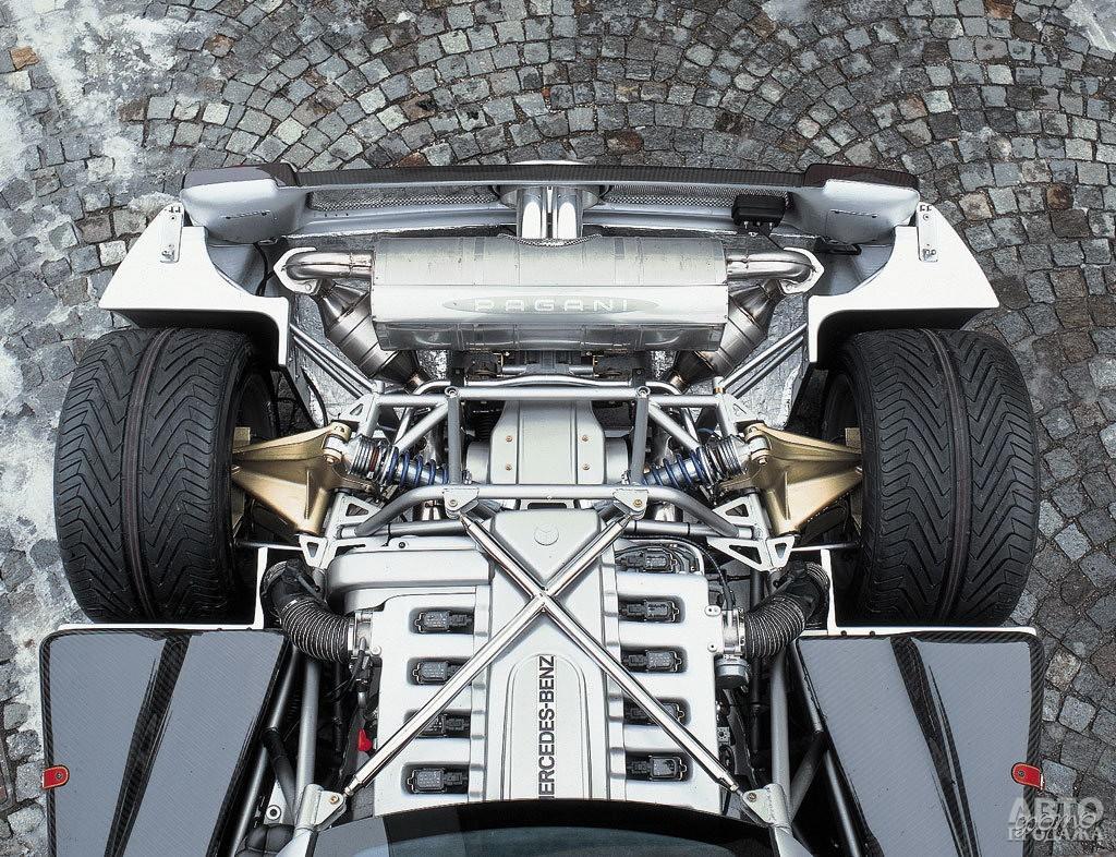 Двигатели V12 для Zonda поставляет Mercedes-Benz