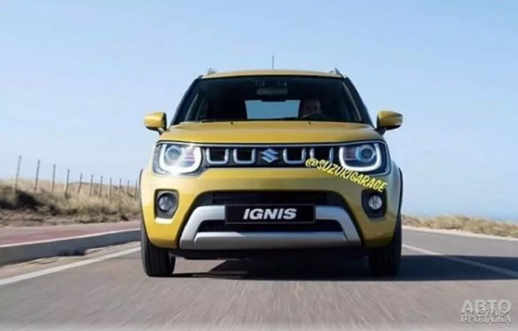 Suzuki Ignis пройдет обновление