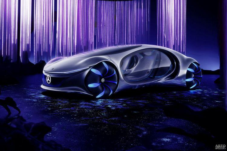 Mercedes-Benz Vision Avtr: единение с природой