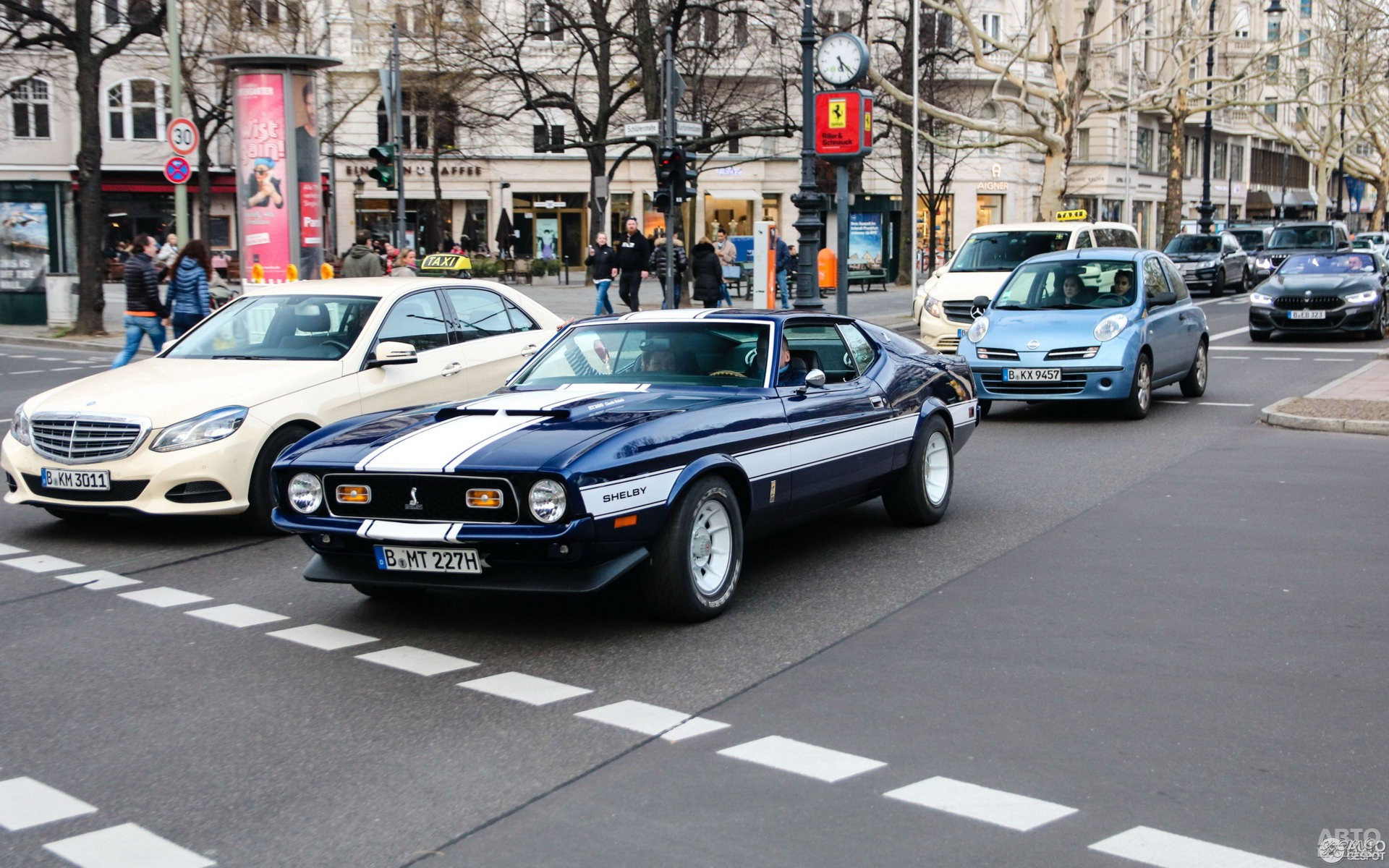 Редкий Shelby Europa 1971 года