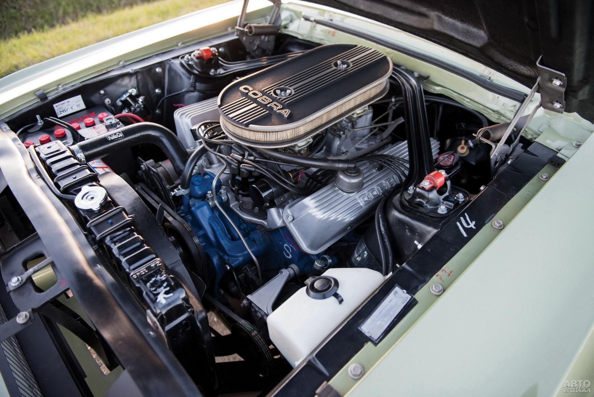 Особенность Shelby GT500 – 7,0-литровый V8