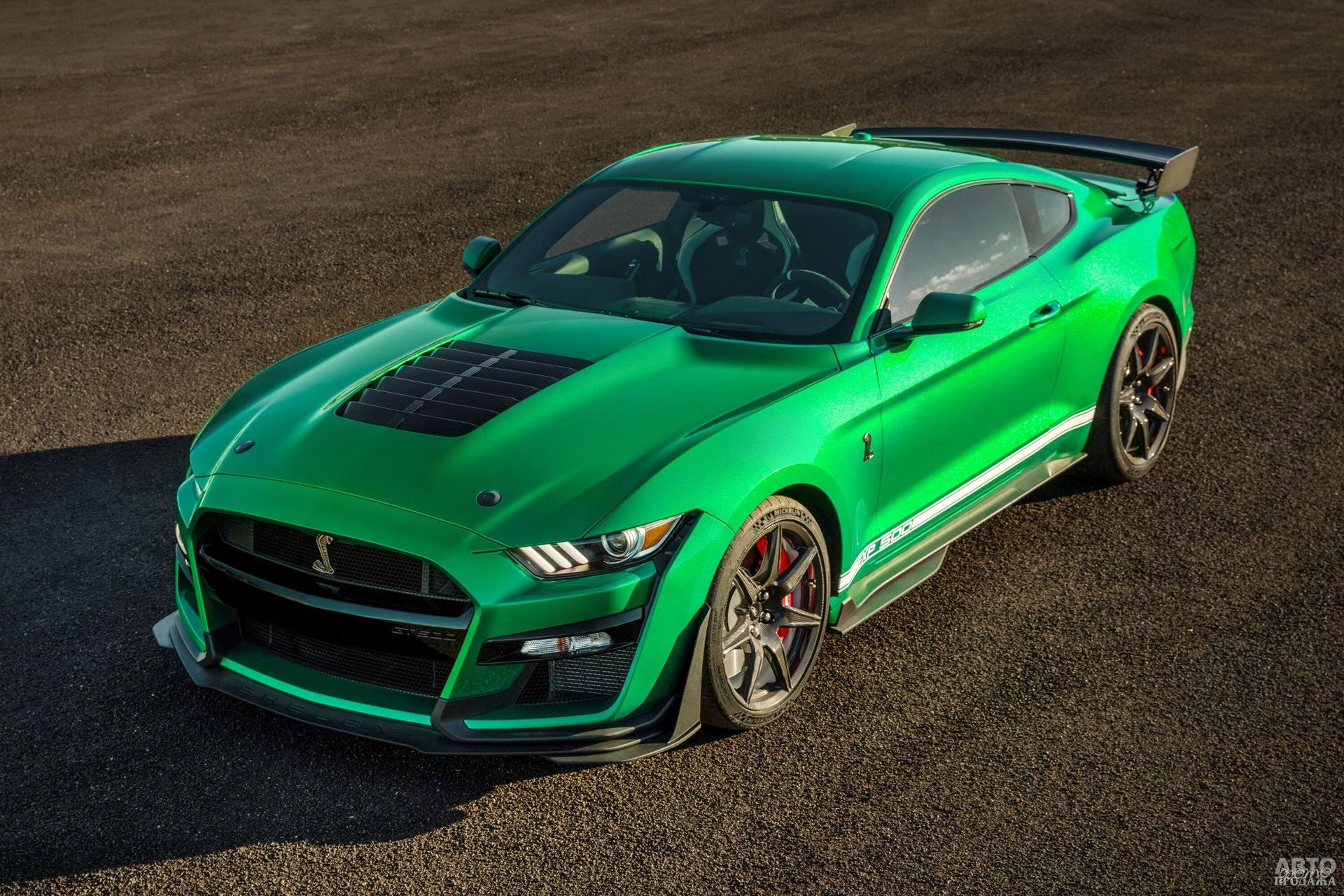 Новый Shelby GT500 2020 года