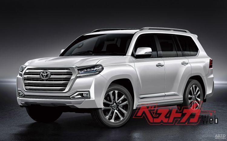 Новый Toyota Land Cruiser появится в 2021 году