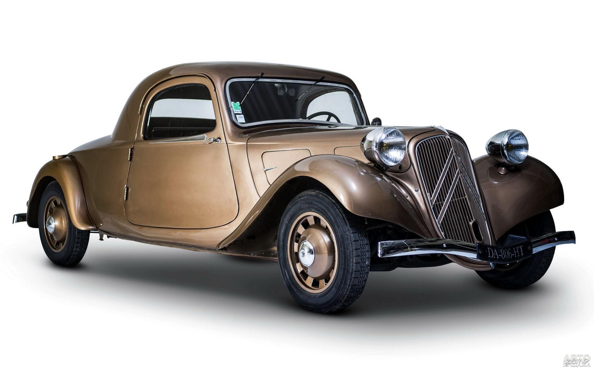Купе Citroen Traction Avant, 1937 год