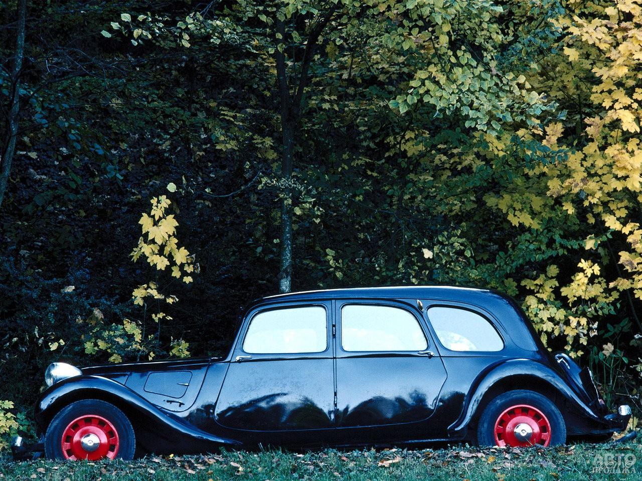 Девятиместный Citroen Traction Avant Familiale