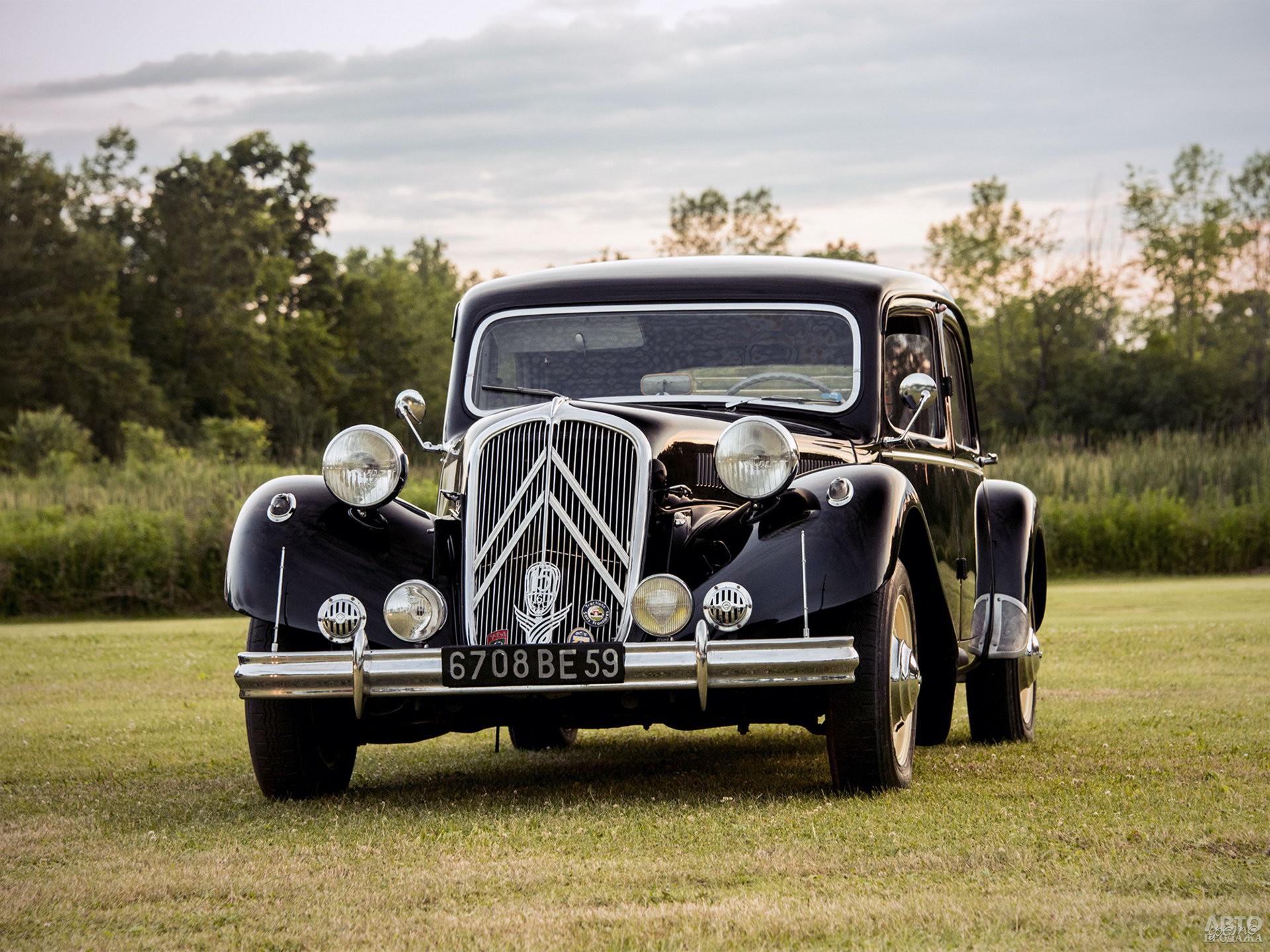 Citroen Traction Avant 15CV 1938 года получил 2,8-литровую «шестерку»