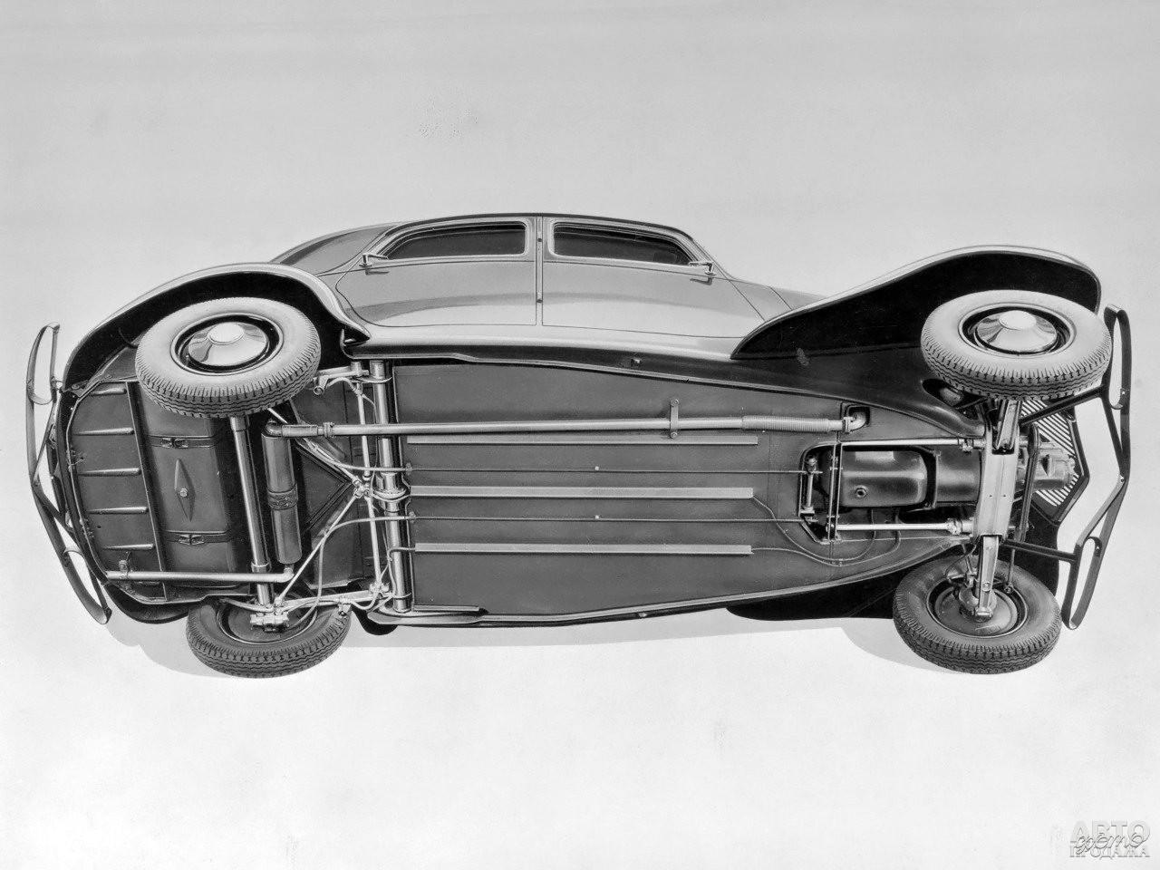 Передний привод выделял Citroen Traction Avant на фоне других моделей 30-х годов