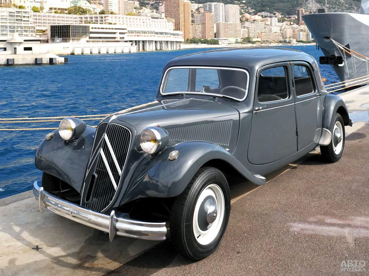 Citroen Traction Avant 11CV 1934 года с 1,9-литровым двигателем