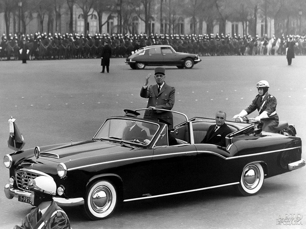 Парадный кабриолет Шарля Де Голля