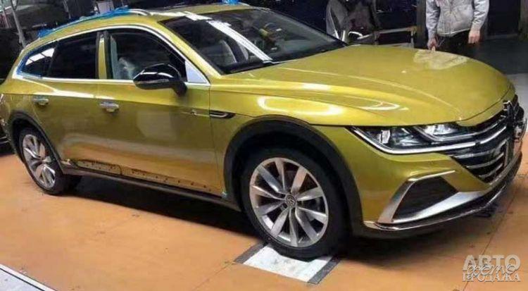 Volkswagen Arteon станет универсалом