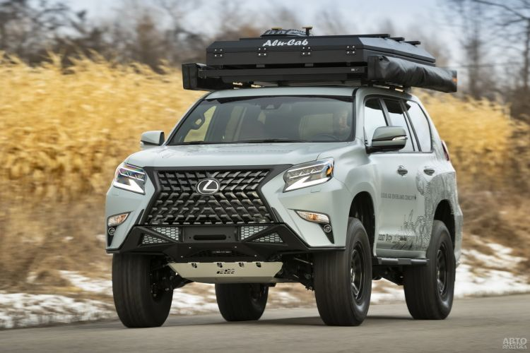 Lexus GX Overland: для любителей путешествий