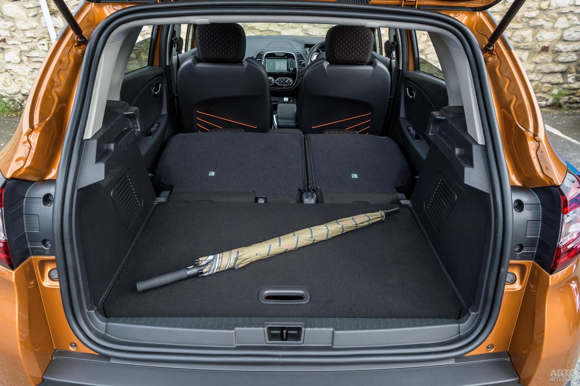 Объем багажника Renault – до 455 л
