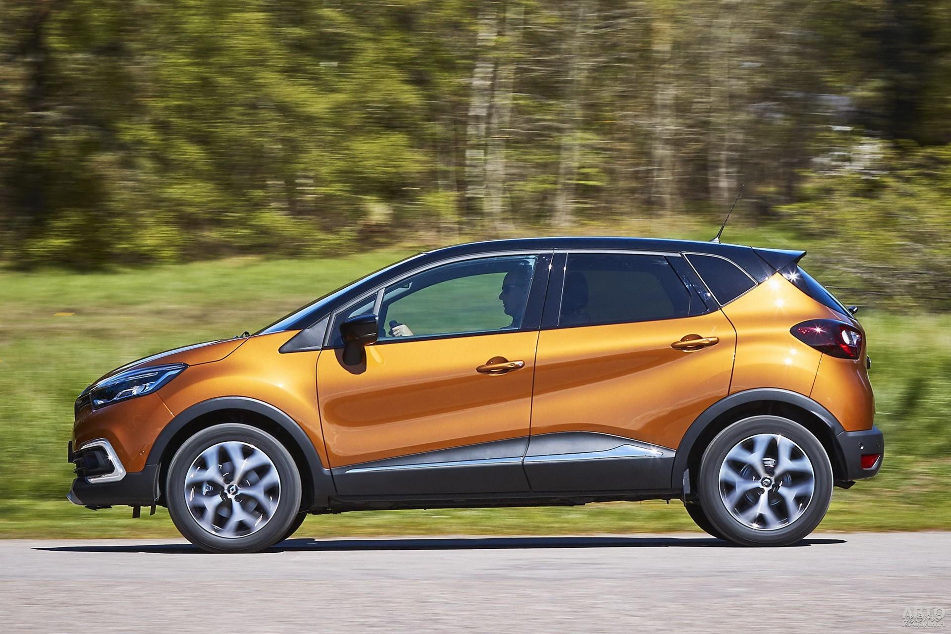 У Renault стремительный дизайн