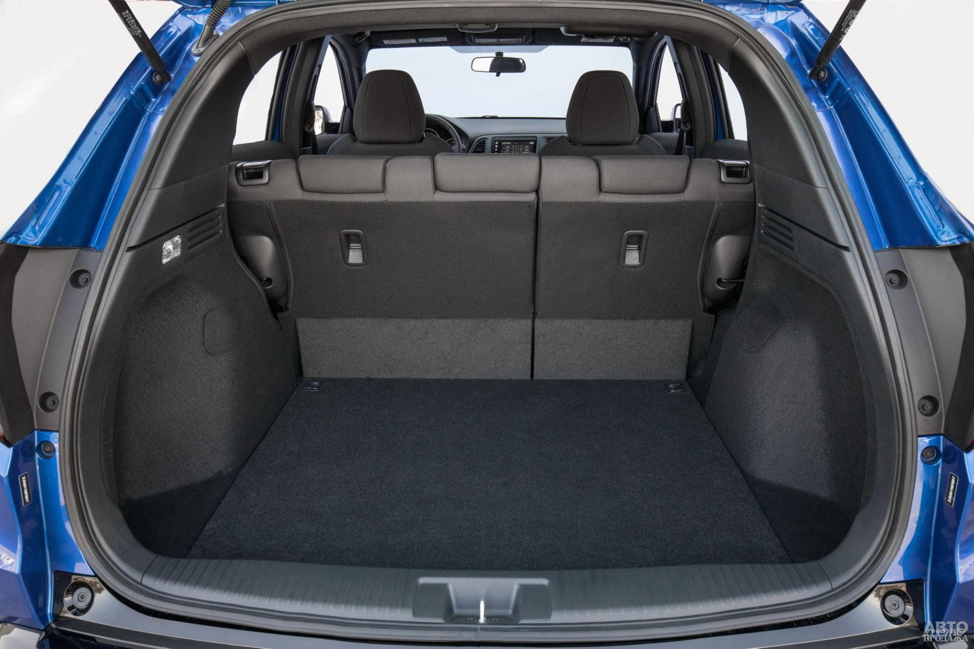 Багажник Honda самый большой – 470 л