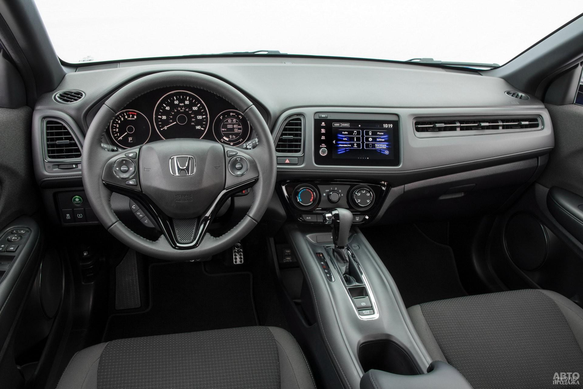 Над перчаточным ящиком Honda – вентиляционные дефлекторы