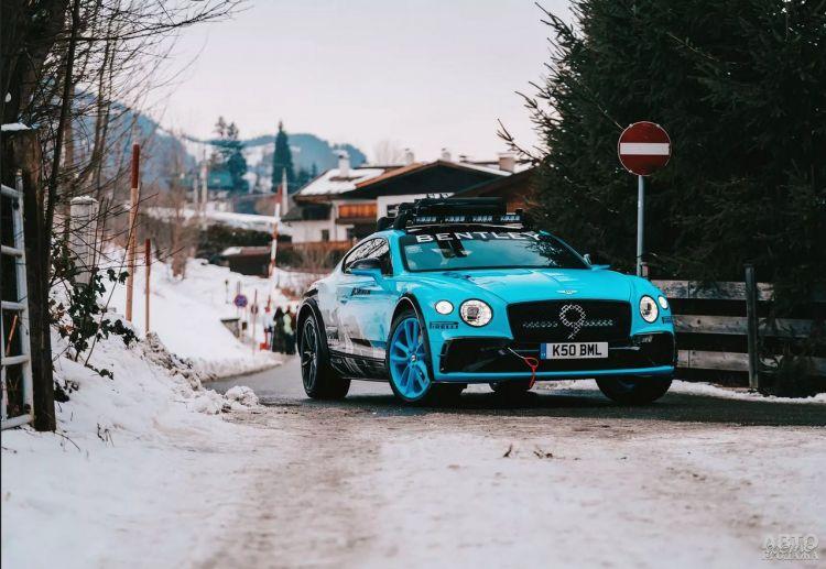 Bentley Continental GT получил вседорожную версию
