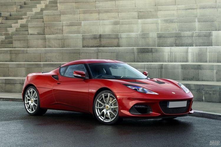 Lotus Evora GT410: освежение