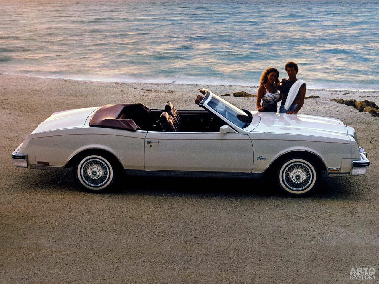 Кабриолет Buick Riviera, 1982 год