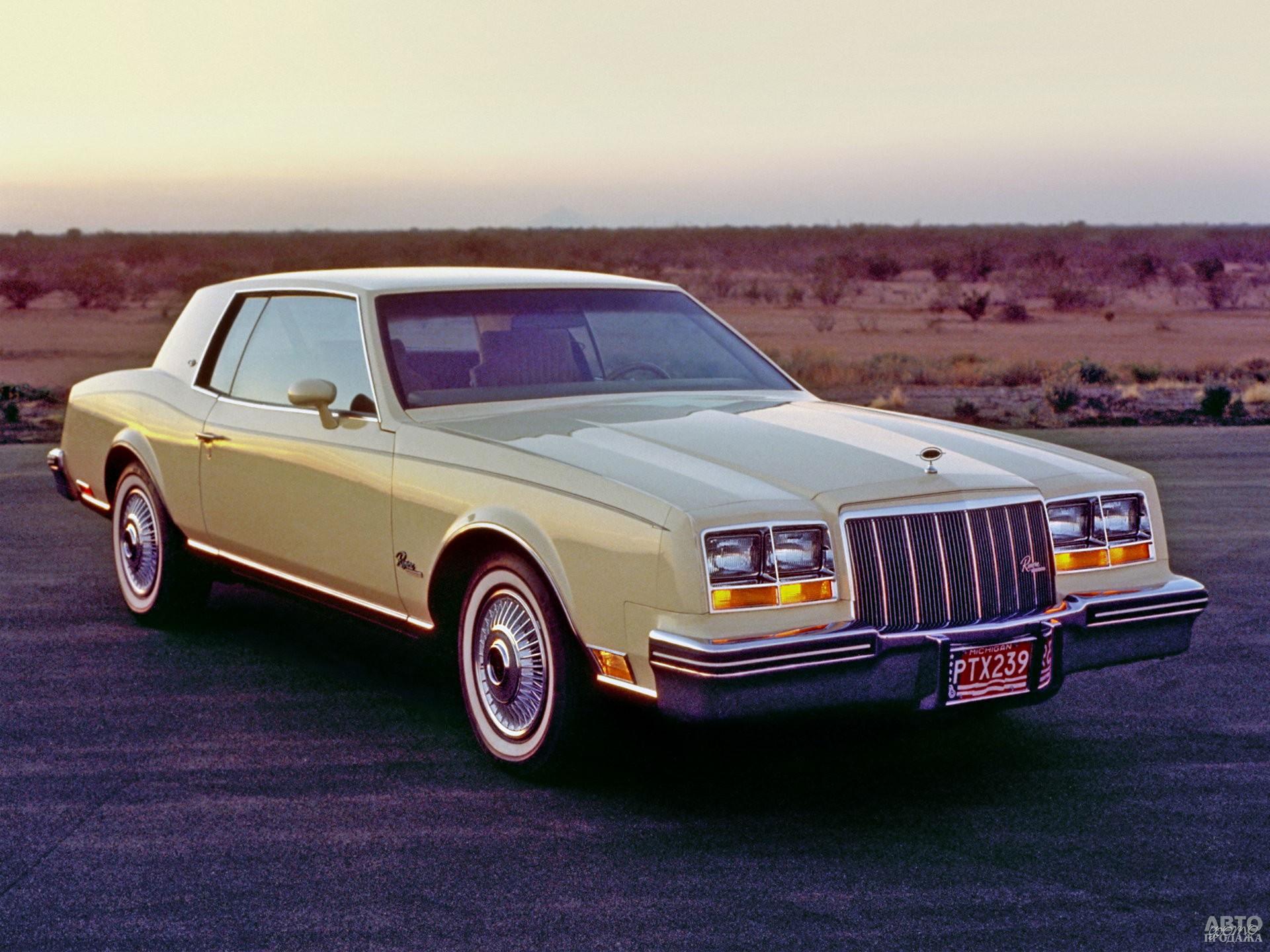 Buick Riviera 1980 года стал переднеприводным