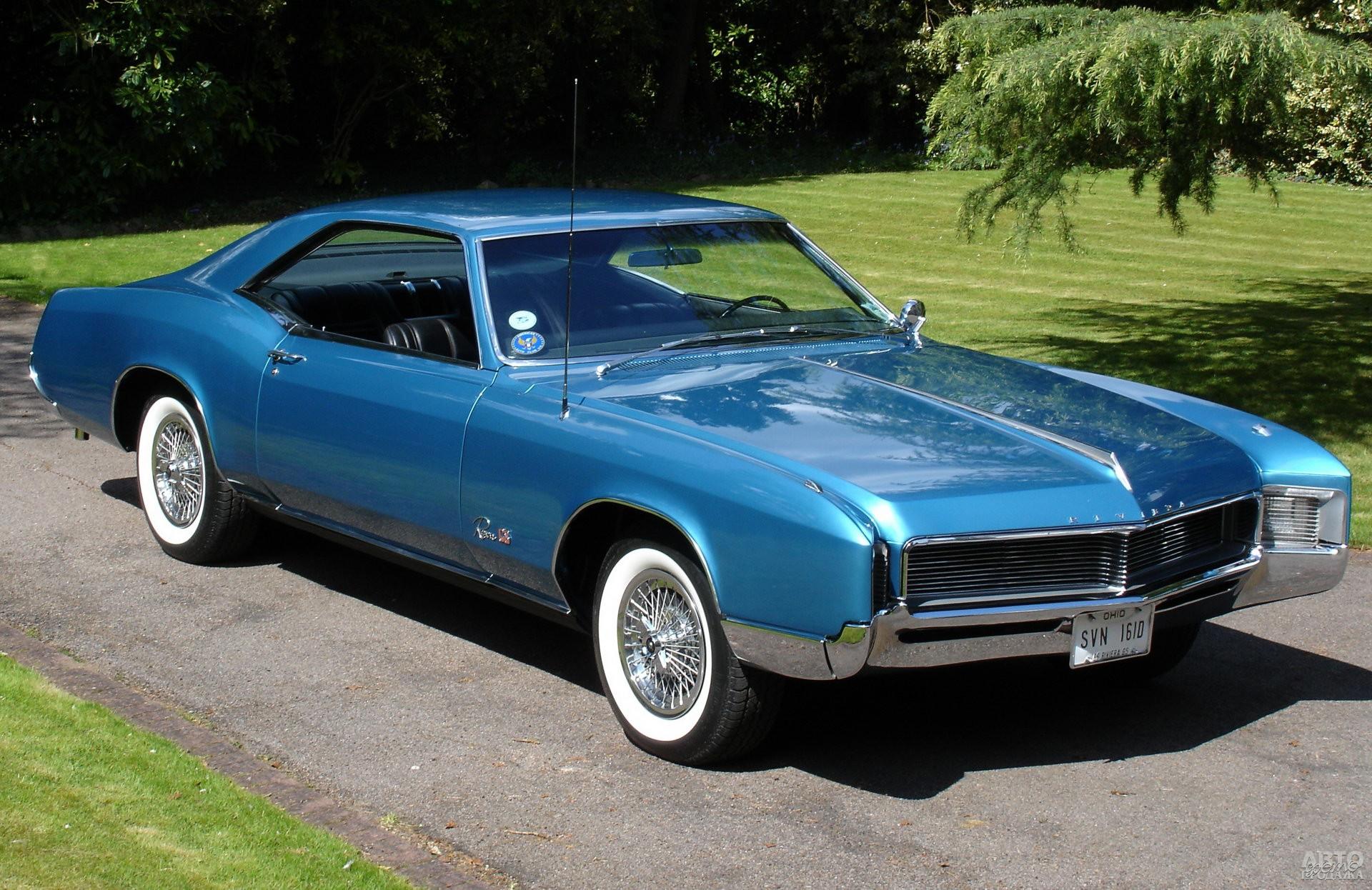 Второе поколение Buick Riviera показали в 1966 году