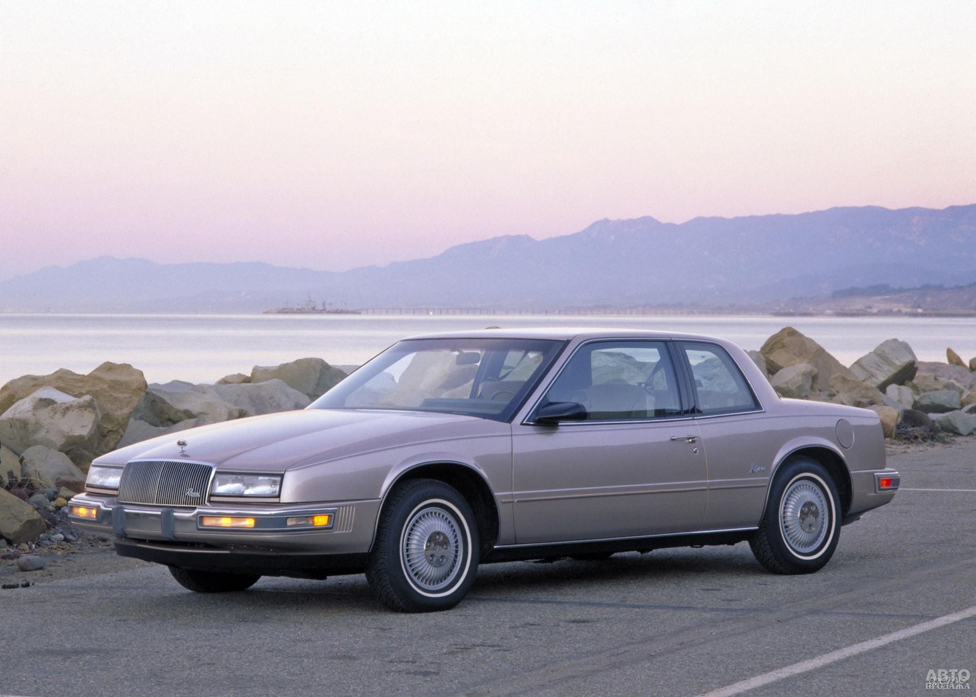 В 1986 году длину Buick Riviera уменьшили до 4,8 м