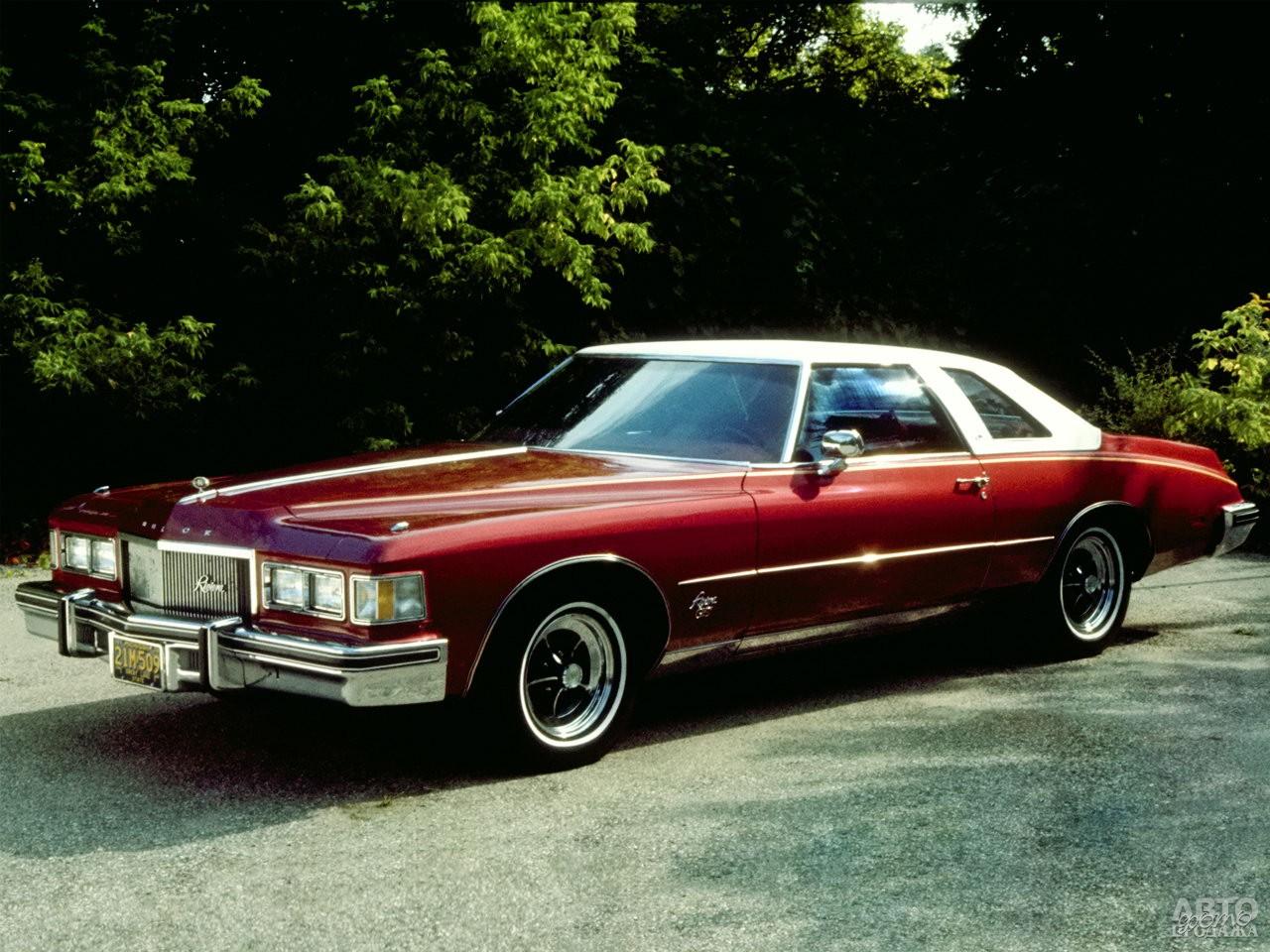 Buick Riviera 1974 года