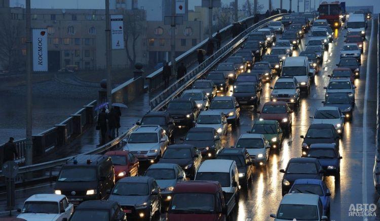 В Киеве проведут замеры трафика